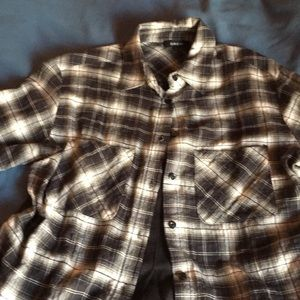 Drew flannel shirt size small